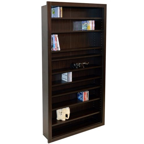 Buy Baltimore Large Cd Dvd Blu Ray Media Storage Shelves Walnut From Our Cd Dvd