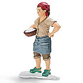 Schleich Female farmer 13468