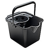 Mop Pail And Wringer - Black