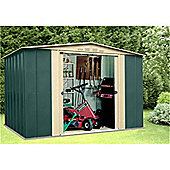 10ft x 5ft Premier Ten Metal Shed (3.07m x 1.54m)