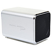 Music Angel Friendz Portable Speaker Silver