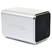 Music Angel Friendz Portable Speaker Silver