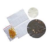 Kitchen Craft Pack of Twenty-Four 908g / 2lb Jam Jar Cover Kit