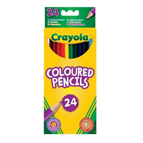 Crayola - 24 Crayola Coloured Pencils