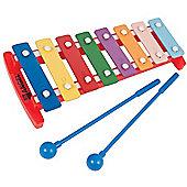 Angel 8 Note Glockenspiel - Coloured Keys
