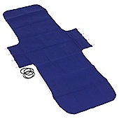 Replacement Folding Lounger Cover, Navy