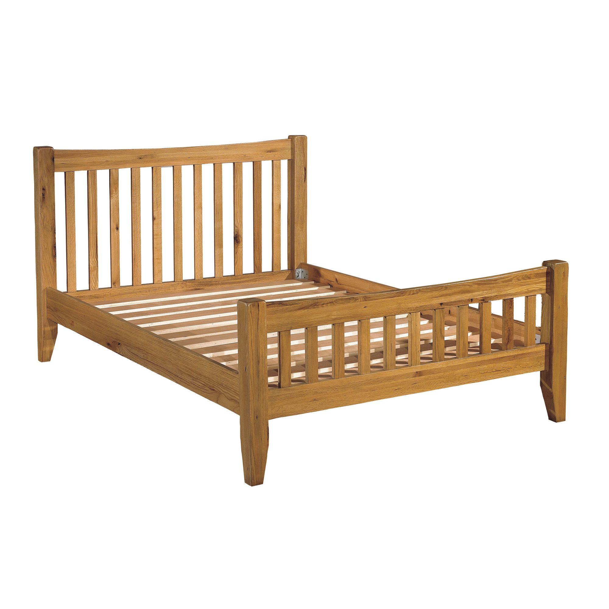 Kelburn Furniture Parnell Bed Frame - Double at Tesco Direct