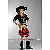 Buccaneer Sweetie - Child Costume 9-10 years