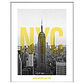 Framed Print Nyc 40 x 50cm