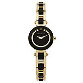 Karen Millen Ceramic Ladies Ceramic Gold Ion plated Watch KM125BGM