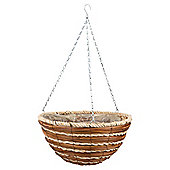 Dobbies Essentials Natural Hanging Basket New Forest