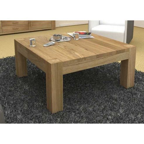 Buy Baumhaus Cmr08a Atlas Solid Oak Square Coffee Table From Our Coffee Tables Range Tesco