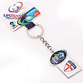 Trofe Official England Rugby League World Cup 2013 Supporters Keyring