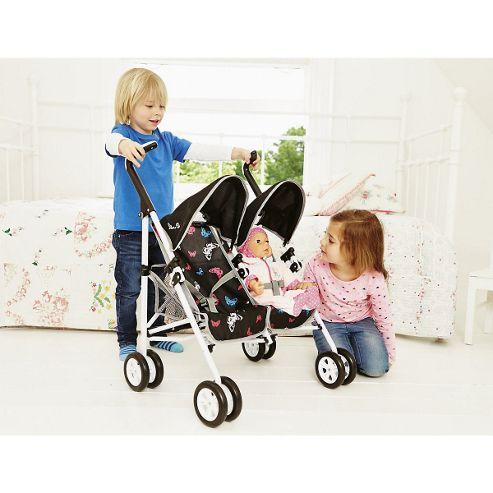 Silver Cross Pop Duo Stroller - Butterfly Vivid