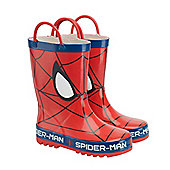 Spiderman Wellies - Red