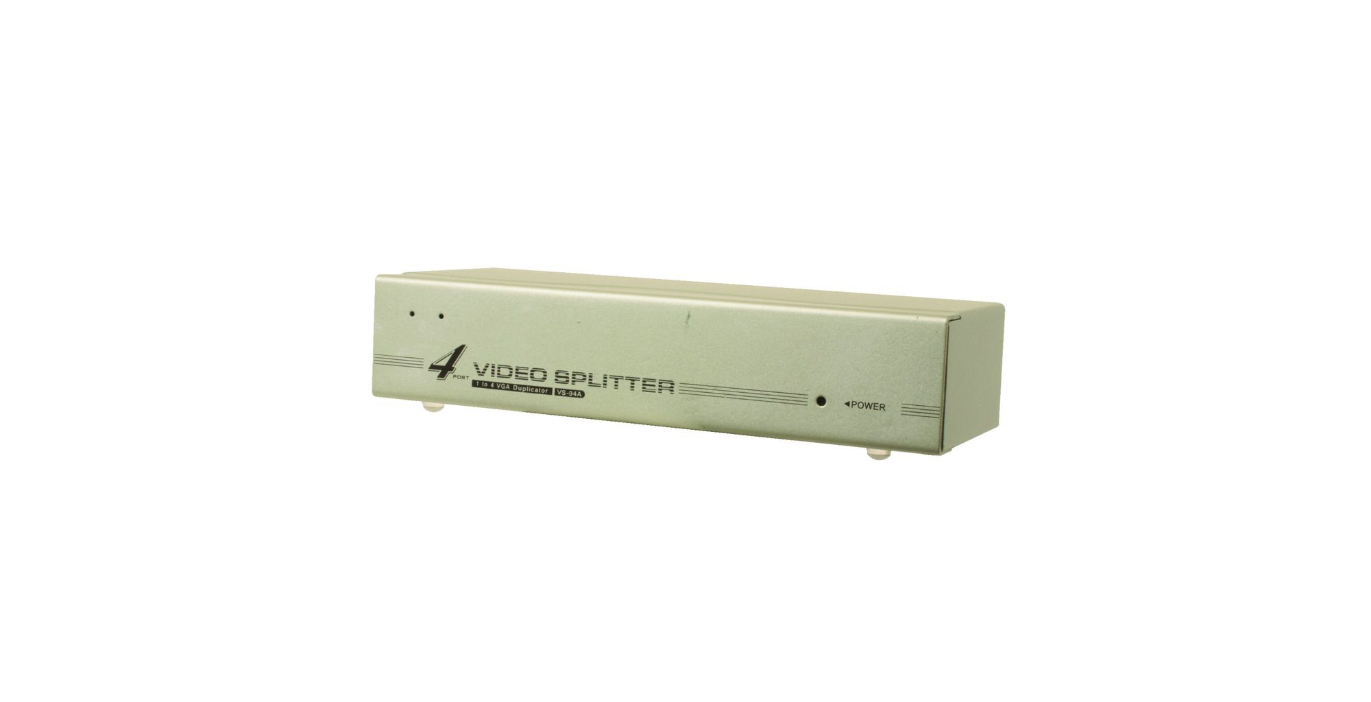 VGA 2 Way Video Splitter Port Monitor SVGA Distribution
