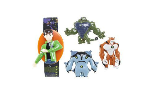 ZEON Ben 10 Ultimate Alien Flip-Top Changeable Cover LCD Watch ZR25768