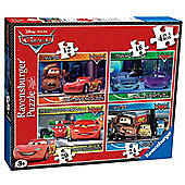 Disney Pixar Cars 4 In A Box - Ravensburger