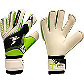 Precision Gk Schmeichology 5 Box Cut Flat Goalkeeper Gloves Size - White