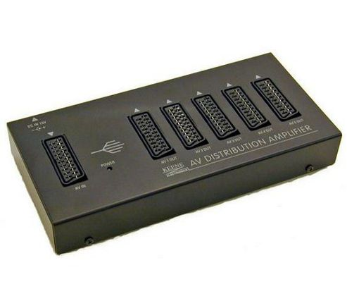 Keene SDA 1X5 Scart Distribution Amplifier (Uk Psu)