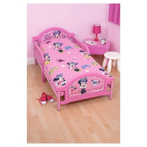 Character World Toddler Bed, Minnie Mouse