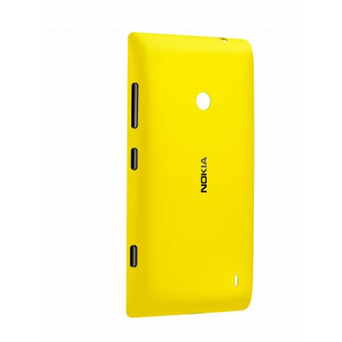 Nokia Original CC-3068 Protective Shell Case for Lumia 520 - Yellow