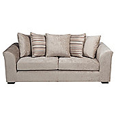 Toronto Fabric Large Sofa Mink