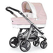 Bebecar Ip-Op Evolution Prive Luxury Combi Pram (Roseus)