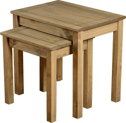 Home Essence Panama 2 Piece Nest of Tables