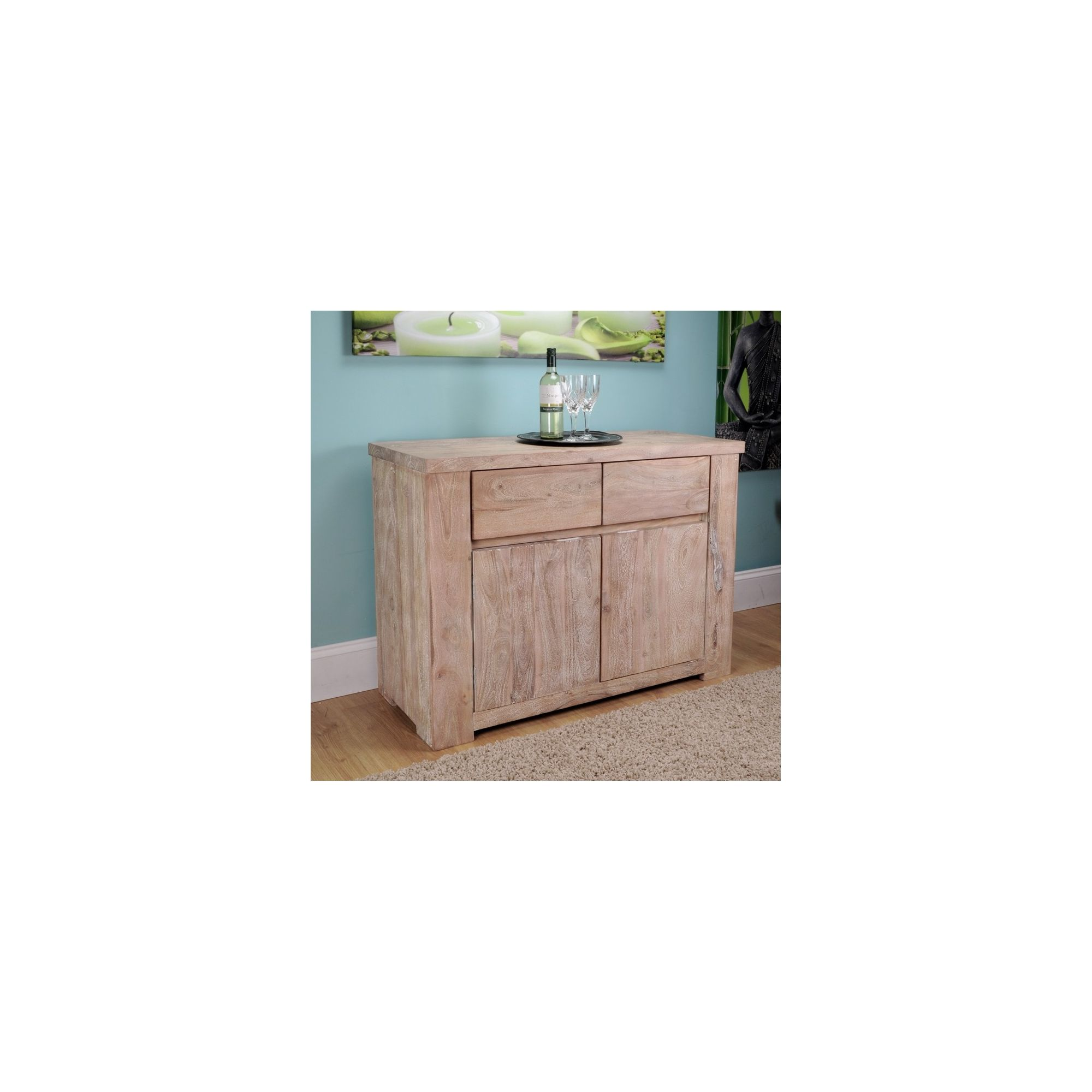 Shankar Enterprises Storm Sideboard - Medium at Tesco Direct