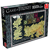 Game of Thrones - Map Puzzle