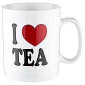 Tesco I Love Tea Large Single Stoneware Mug
