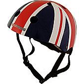 Kiddimoto Helmet - Union Jack - Small