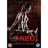 Rec 4: Apocalypse DVD