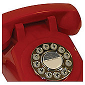 Gpo 1970'S Retro Push Button Telephone - Red