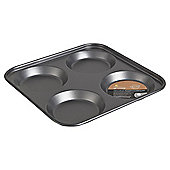Go Cook Professional 24cm 4 Cup Yorkshire Pudding Tray