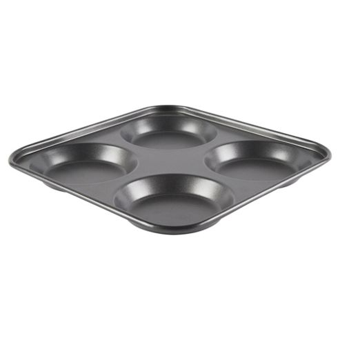 Go Cook Professional 24cm Yorkshire Pudding Tray, 4 cup