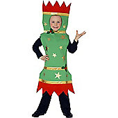Child Christmas Cracker Costume Large