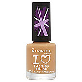 Rimmel London Lasting Finish 705 Tangy Tangerine 8ml