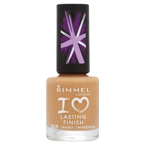 Rimmel London Lasting Finish 705 Tangy Tangerine 8ml