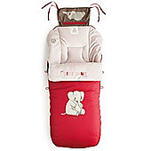 Jane Luxury Nest Plus Footmuff (Sand)