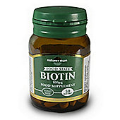 Natures Own Biotin 50 Tablets
