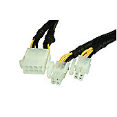 Power Transfer Cable PCI 8pin to 4+4pin