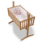 Clair de Lune 2pc Crib Bedding Set (Stardust Pink)