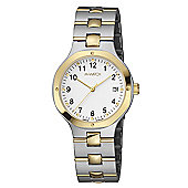 M-Watch Metal Classic Unisex Gold Ion-plated Stainless Steel Date Watch A661.30547.40