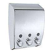 Wenko 3 Compartment Soap Dispenser