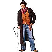 Adult Gun Slinger Cowboy Fancy Dress Costume