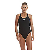 Speedo Women's Endurance+ Medalist Swimsuit - Black