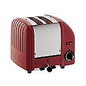Dualit Vario 2 Slot Toaster, Red