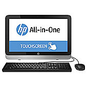 HP 22-2061na 21.5-inch Touchscreen All-In-One Desktop, Intel Pentium, 4GB RAM, 1TB - Black